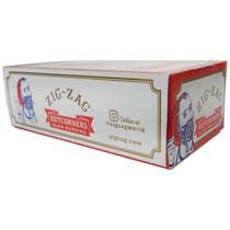 Zig Zag - White Rolling Papers Kutcorners - Display of 24 (MSRP $3.25ea)