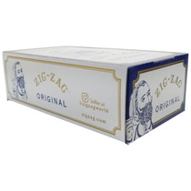Zig Zag - White Rolling Papers Single Wide - Display of 24 (MSRP $3.25ea)