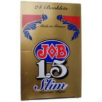 JOB - Gold Rolling Papers Slim 1.5 - Display of 24 (MSRP $3.25ea)