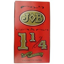 JOB - Slow Burning Rolling Papers 1¼ - Display of 24 (MSRP $2.25ea)