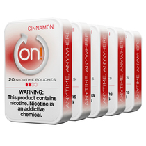ON! - Nicotine Pouches 20ct - 5 Pack (MSRP $5.99)