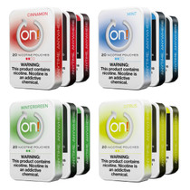 ON! - Nicotine Pouches (20ct) - Pack of 5 (MSRP $5.99)