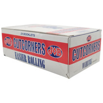 JOB - Cut Corners Slow Burning Rolling Papers - Display of 24 (MSRP $3.25ea)