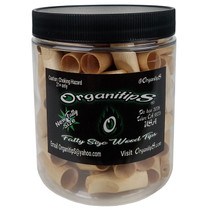 OrganitipS - Flavored Wood Rolling Tips - Fatty Size - 100ct Jar (MSRP $110.00)