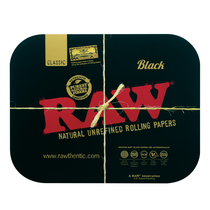 RAW® - Black Magnetic Rolling Tray Cover (MSRP $10.00)