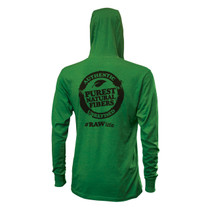RAW® - Mens Lightweight Hoodie - Green (MSRP $45.00)