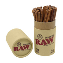 "RAW® - 4.5"" Natural Wood Pokers - 50ct (MSRP $1.50ea)"