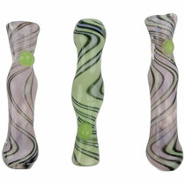 "3.5"" Slyme Wave Work Chillum Hand Pipe - 3 Pack (MSRP $30.00ea)"