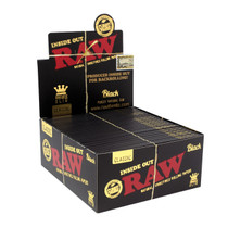 RAW® - Black Inside Out Rolling Papers King Size Slim 32ct - Display of 50 ($3.00ea)