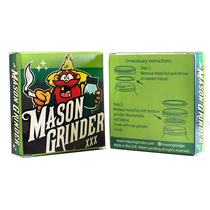 Mason Grinder - 2 Part Jar Top Grinder - 10ct Display (MSRP $25.00ea)