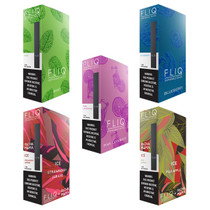 Fliq - Disposable 1.3ml 6.8% - Pack Of 5 - 5 Flavor Variety Pack (MSRP $14.99ea)