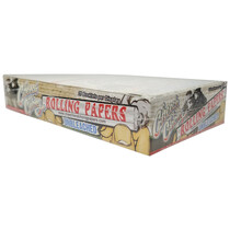 Cheech & Chong - Unbleached Rolling Papers 1¼ - Display of 25 (MSRP $2.50)