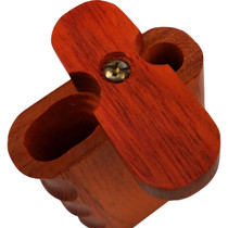 "3"" Side Grip Cherry Wood Dugout (MSRP $8.00)"