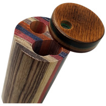 """3"""" Round Multicolor Dugout (MSRP $8.00)"""