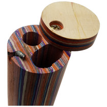 """4"""" Round Multicolor Dugout - with Poker (MSRP $8.00)"""