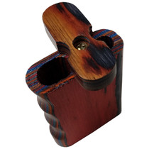 "3"" Multicolor Side Grip Wood Dugout (MSRP $8.00)"