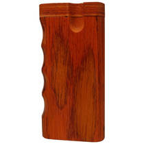 """4"""" Cherry Wood Dugout (MSRP $8.00)"""