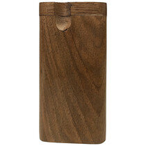 "4"" Dark Wood Dugout (MSRP $8.00)"