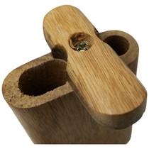 """3"""" Plain Wood Dugout (MSRP $8.00)"""