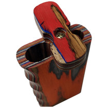 "4"" Multicolor Side Grip Wood Dugout (MSRP $8.00)"