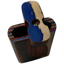 "3"" Multicolor Wood Dugout (MSRP $8.00)"