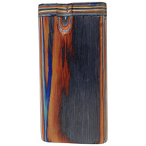 """4"""" Multicolor Wood Dugout - with Metal Poker (MSRP $9.00)"""