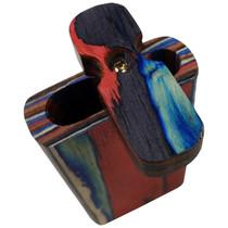 """4"""" Multicolor Plain Wood Dugout (MSRP $8.00)"""