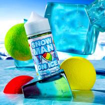 Snow Man On Ice E-Liquid By Juice Man USA 100ML *Drop Ship* (MSRP $24.99)