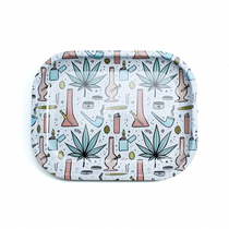 Ugly Rolling Trays - Mini Metal Tray 2pc with Lid (MSRP $11.99)