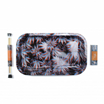 Ugly Rolling Trays - Large Metal Tray 6pc Bundle with Lid (MSRP $19.99)