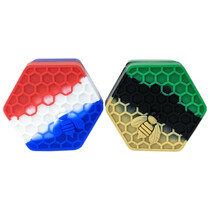 Silicone Storage 52mm 26ml - Hexagon - 2 Pack (MSRP $5.00ea)