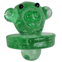 Glow In The Dark Assorted Color Carb Cap - Monkey - 5 Pack (MSRP $10.00ea)
