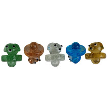 Glow In The Dark Assorted Color Carb Cap - Dog 2 - 5 Pack (MSRP $10.00ea)