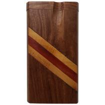 "4"" Stripe Work Wood Dugout (MSRP $15.00)"