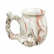 Roast & Toast Mug - Small - Marble Design (MSRP $25.00)