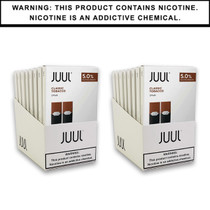 JUUL Pods | Classic Tobacco 5% 4 Pack Includes Two 2 Pack Displays (MSRP $15.99ea)