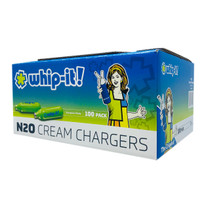 Whip It - N20 Cream Chargers - 100ct Sleeve
