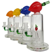"""8"""" Fruit Perc Showerhead Water Pipe - with 14M Bowl & 4mm Banger (MSRP $85.00)"""