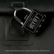 RYOT® - Flat Pack Smell Proof Bag - Medium w Rlock (MSRP $40.00)