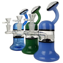 "7"" Hanging Bell Banger Hanger Water Pipe - with 14M Bowl & 4mm Banger (MSRP $115.00)"