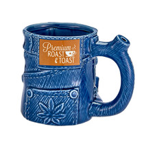 Roast & Toast Mug - Denim Jeans (MSRP $30.00)