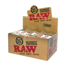 RAW® - Humidity Control 62% Humidiccant 8gm - Display of 60 (MSRP $1.50ea)