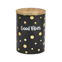 Deluxe Canister Stash Jar - Good Vibes (MSRP $29.99)