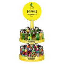 Clipper - Original Lighter - 2 Tier Display of 48 (MSRP $2.00ea)