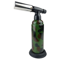"Scorch Torch - 8"" Double Torch with Auto Function & Stand - Camouflage (MSRP $30.00)"