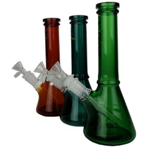 "8.5"" Assorted Full Color Beaker Water Pipe - with 14M Bowl (MSRP $100.00)"