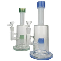 "9"" Showerhead Perc Banger Hanger Water Pipe - with 14M Bowl & 4mm Banger (MSRP $75.00)"
