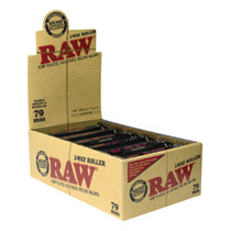 RAW® - Rolling Machine - 79mm 2-Way Adjustable - Display of 12 (MSRP $5.00ea)
