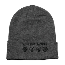 RAW® - Knit Hat - Grey Rolling Papers (MSRP $15.00)