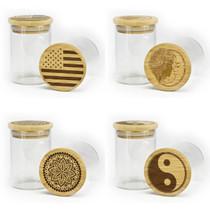 Non-Stick Glass Stash Jar By Green Star 200ML *Drop Ship* (MSRP $9.99)